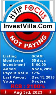 hyipfocus.com - hyip invest villa