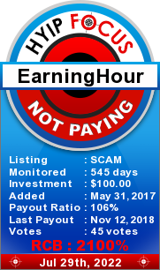 hyipfocus.com - hyip earning hour