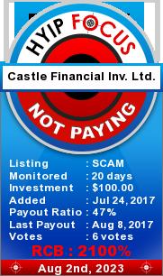 hyipfocus.com - hyip castle financial