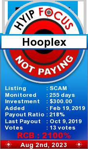 ссылка на мониторинг http://hyipfocus.com/details/lid/1781/