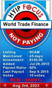 hyipfocus.com - hyip world trade finance ltd