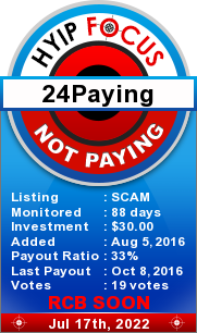 hyipfocus.com - hyip 24 paying